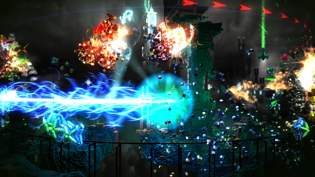 Resogun Screen